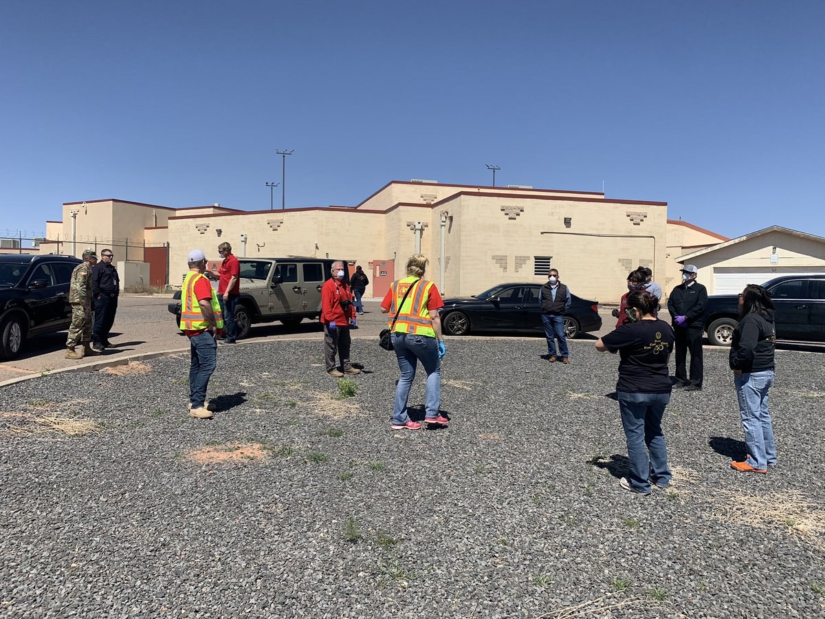 Navajo Nation President Jonathan Nez On Twitter Thank You To The Army Corps Of Engineers Az National Guard And Local Officials For Assisting Today In Assessing Possible Sites For Federal Medical Stations