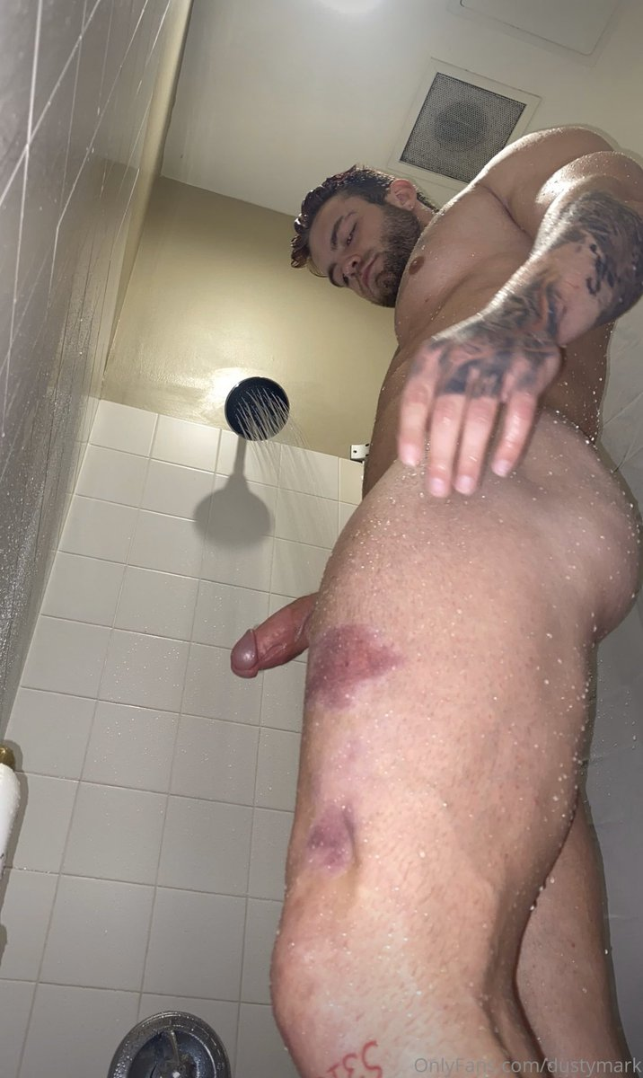 Dustin Mcneer Nude Ass In A Shower