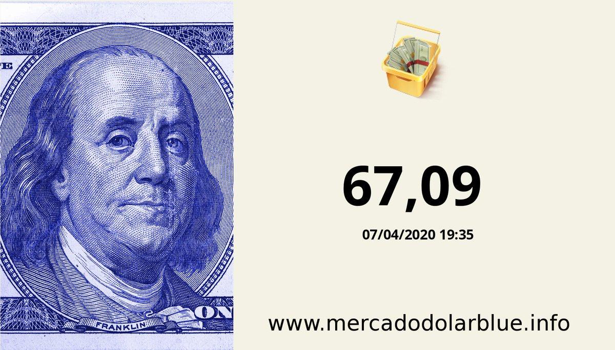 #Blue #DolarParalelo #Argentina  #DolarOficial: 67,09 #DolarBlue: 85,00 #EuroBlue: 92,52 #DolarEuro: 1,0885