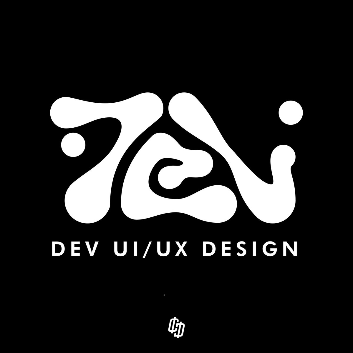DEV UI/UX Design Logo Options  #CastroDesign #White #Black #DEV #Development #Logos #GraphicDesign #GFX #AdobeIllustrator #Ui #Art #Ux #UIDesign #UXDesign #Organic #Confinement #LogoDesigner #Entrepreneur #EntrepreneurLife #Entrepreneurship #EntrepreneurMindset #Mockup #Skew