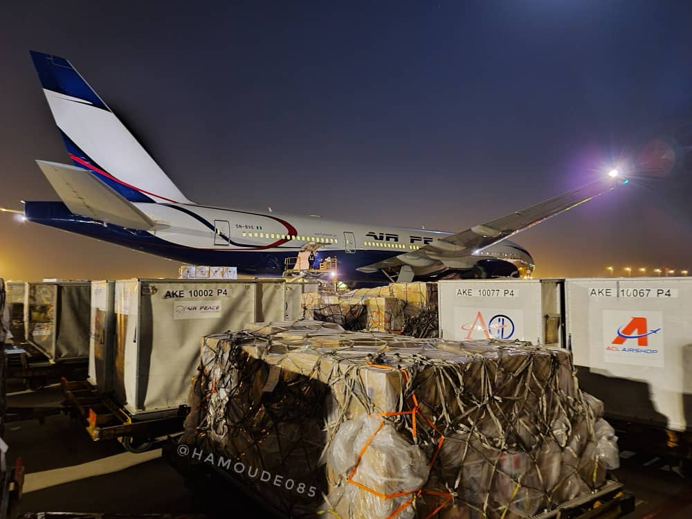 Airpeace Airlift Medical Supply From China