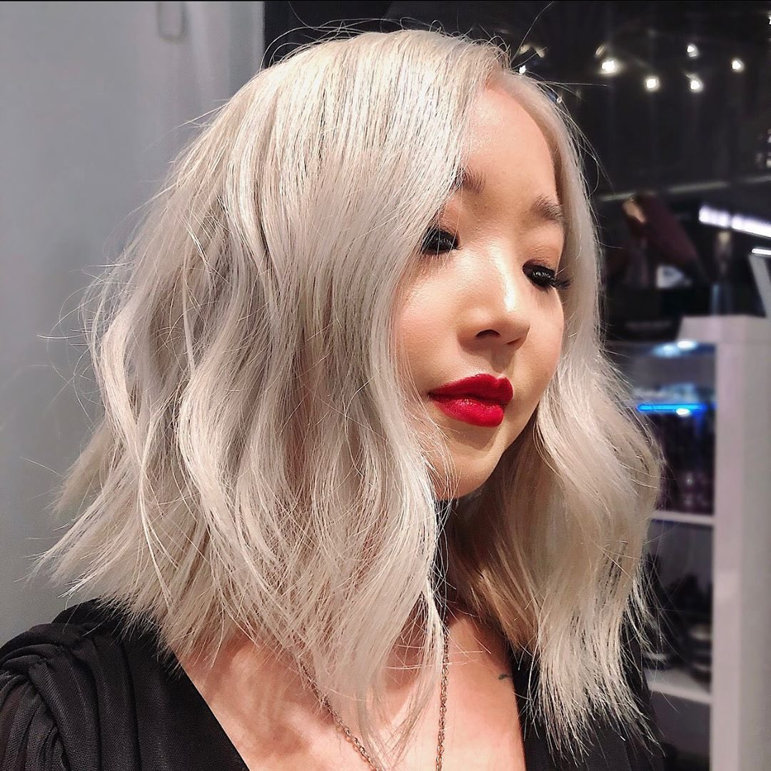 We love this pre-lockdown hair transformation by Anna at TONI&GUY New Zealand  #blondehair #platinumblonde #silverhair #hairinspirationpic.twitter.com/Aw4W0xGu0l