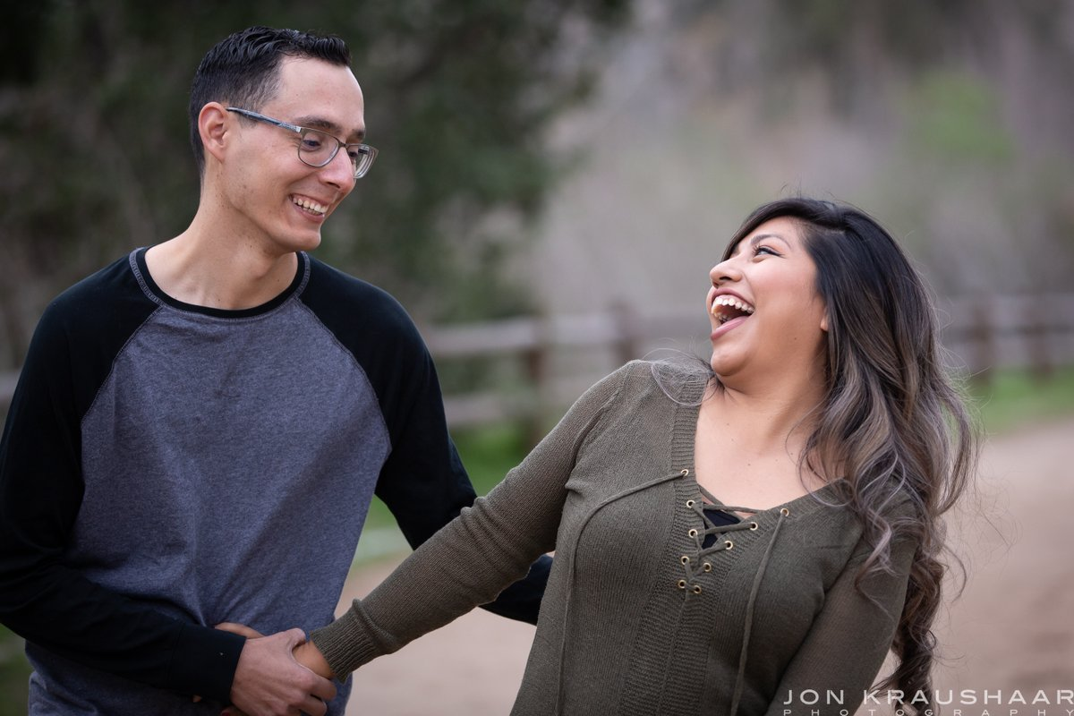 Remember to keep smiling and laughing :)  #engagementphotos #engagementphotography #love #orangecounty #socal #Santiagocanyonregionalpark #anaheimhills #photography #marryingyourbestfriend #smile