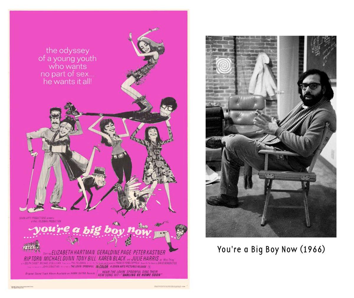 """""""You're a Big Boy Now"""" (1966) el primer drama de Ford Coppola, una historia iniciática de un joven que tiene que madurar ante la mirada de sus padres. La primer película con nominaciones como Mejor Película, Guión y Actriz en Cannes, BAFTA, WGA, Golden Globes y Oscar. pic.twitter.com/IP0jMHWooy"""