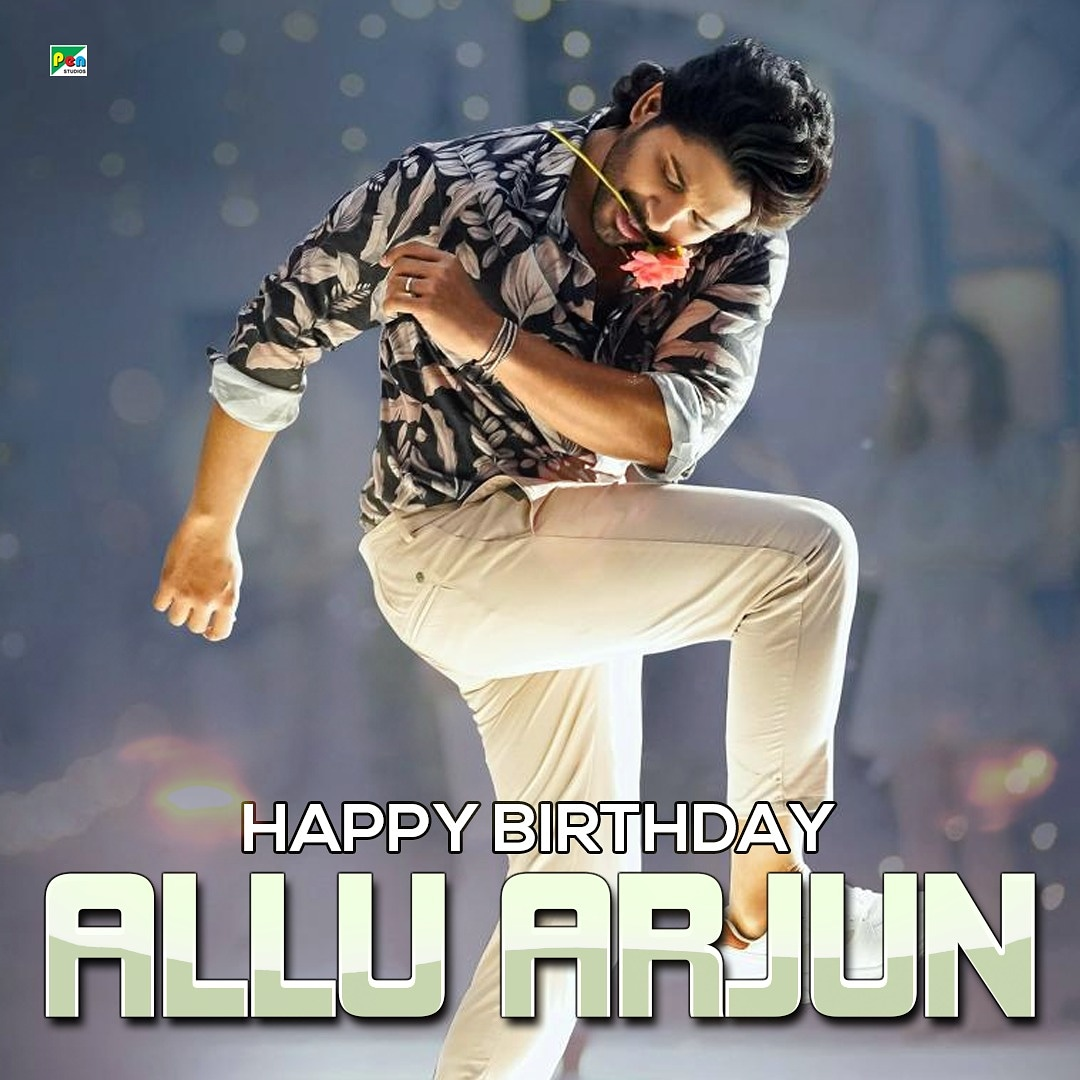 Pen Studios wishes the south super star @alluarjun a very happy birthday . . . #happybirthday #alluarjun #celebration #alavaikunthapurramuloo #south #superstar #stayhome #StaySafe