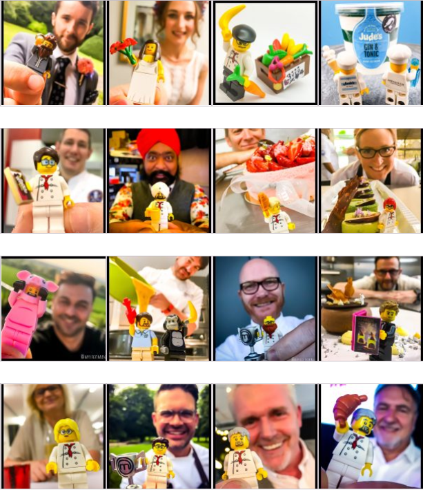 """#earlybiz Join the elite group of #Foodies that have their very own """"Mini Me"""" by getting yourself in Lego designed by @mylegoman A whole personalised Lego Minifigure made up to your specifications. Click here for details.   #giftideas"""