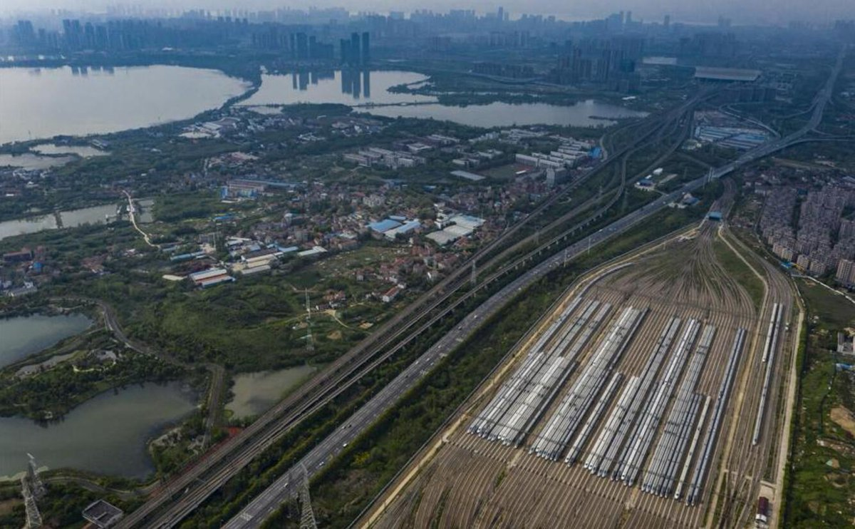 Wuhan resumes operation of nearly 100 passenger trains https://on.china.cn/2XgQJZA