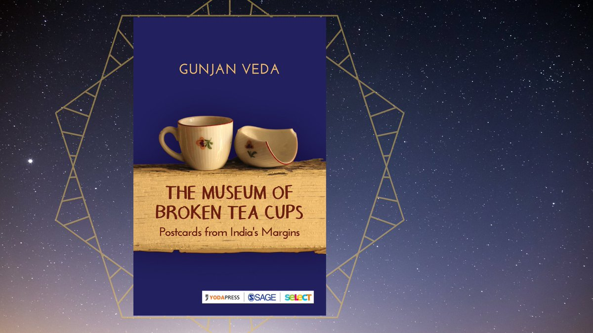 """#WednesdayWisdom from #TheMuseumofBrokenTeacups: """"Sometimes all you need is stubbornness... (it) gives you the strength to weather all storms, to forge your own path and walk it, even if it means doing so alone."""" Get your #Kindle version @ ow.ly/R47G50z65C5 @gunjanveda"""