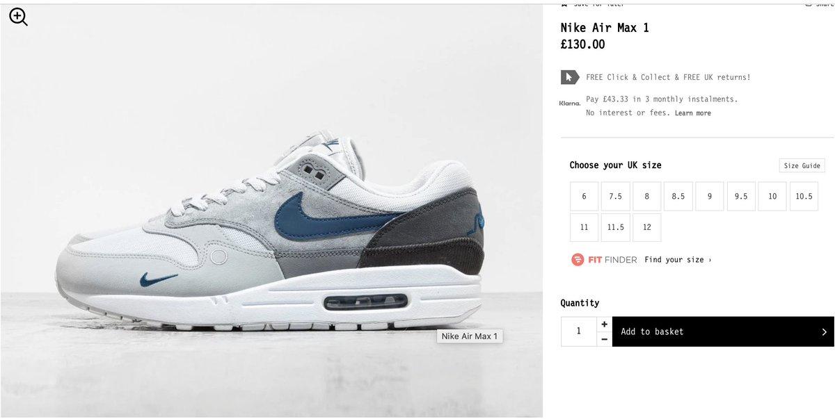 Sole Links On Twitter Ad Nike Air Max 1 London Restocked Via