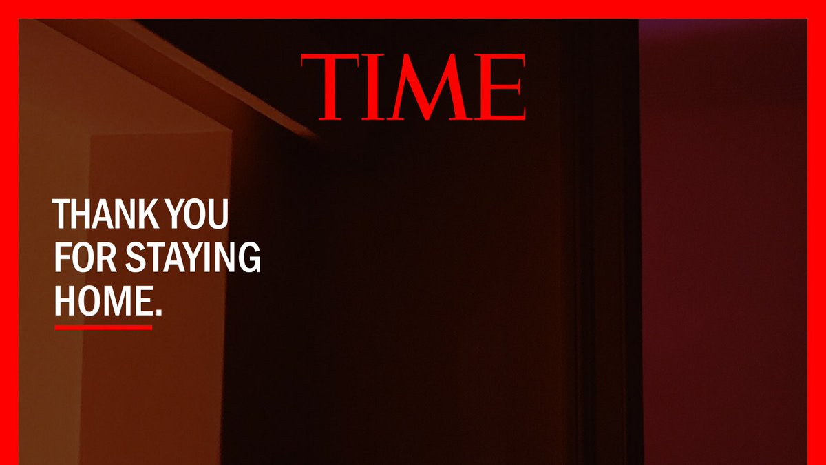 Need a new background for your at home conferencing and collaboration?  Here is an amazing background from @time.  Thank you for staying at home. ❤️