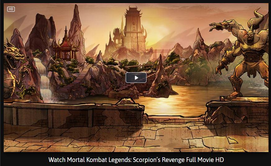 mortal kombat scorpions revenge full movie