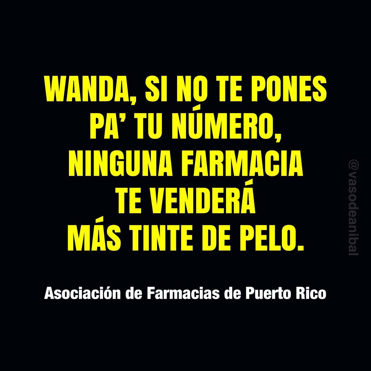Wanda está advertida... 😁