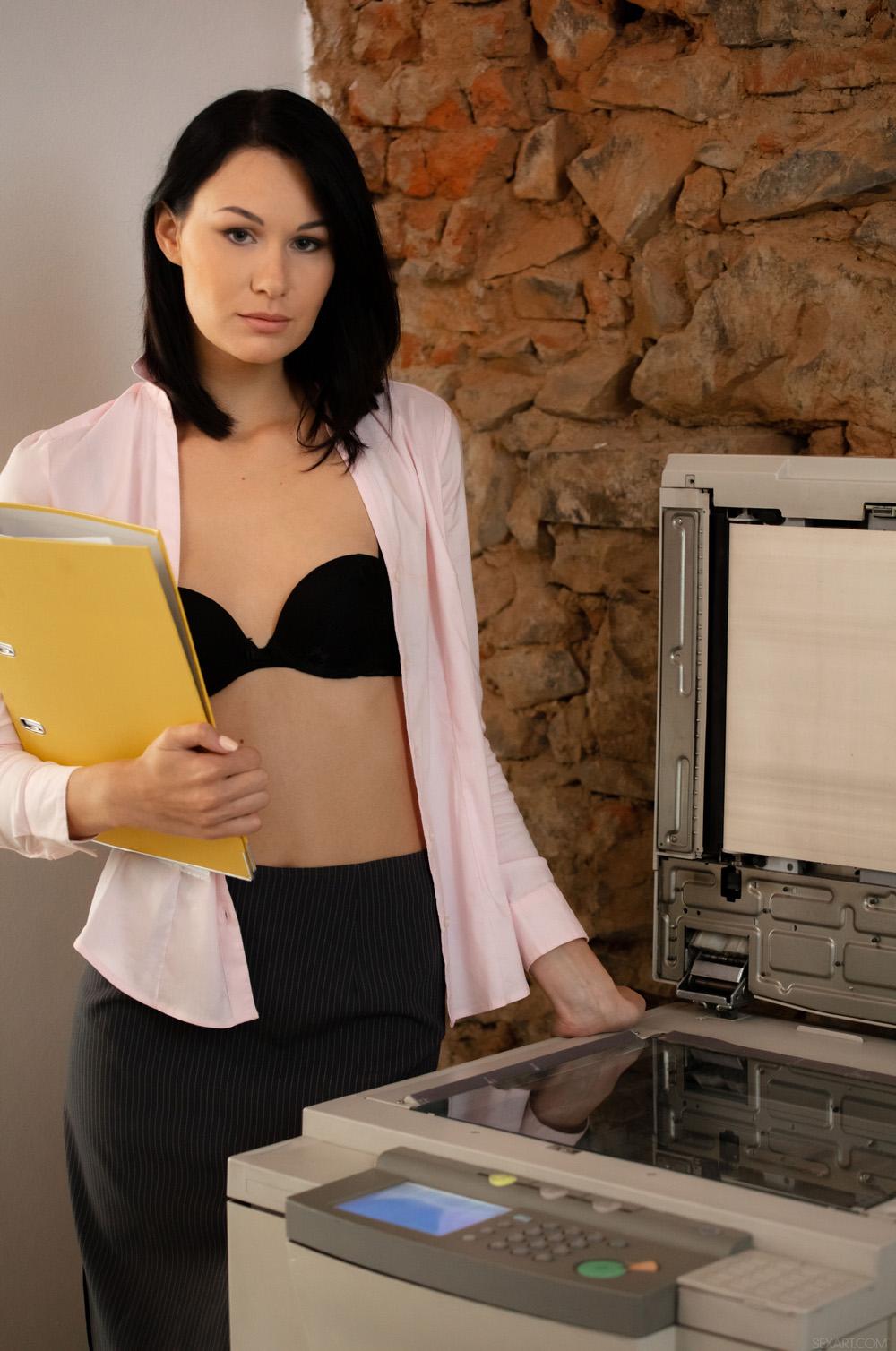 """porn-star.com على تويتر: """"Naughty secretary Nikki Stills bangs her ..."""
