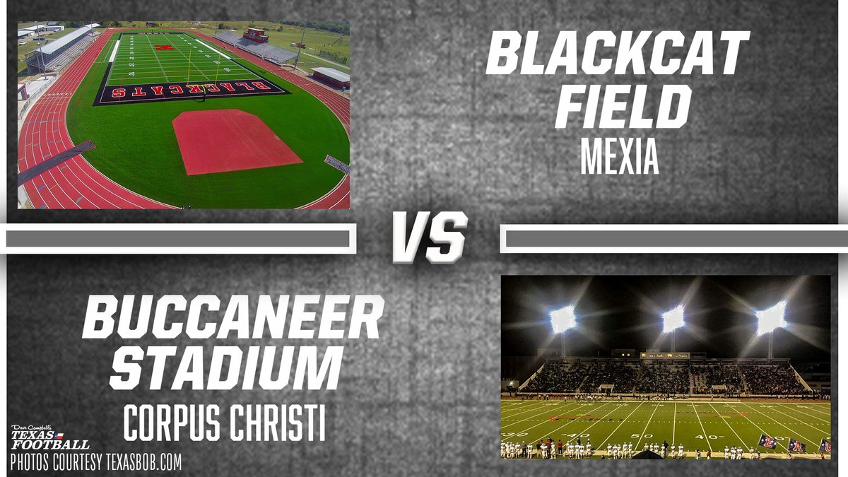 Dave Campbell S Texas Football Texasfootball Com On Twitter First Round Texas High School Football Stadium Showdown Click Link To Vote Blackcat Field Mexia Vs Buccaneer Stadium Corpus Christi Https T Co Hdxprump2s Txhsfb
