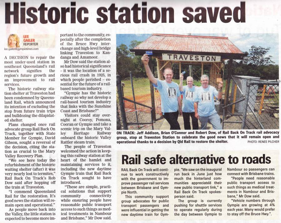So Traveston lives on .. Gympie Times 24th November 2011 page 5 'Historic station saved' https://railbotforum.org/mbs/index.php?topic=3633.msg76598#msg76598…pic.twitter.com/nNDX4qAMv8