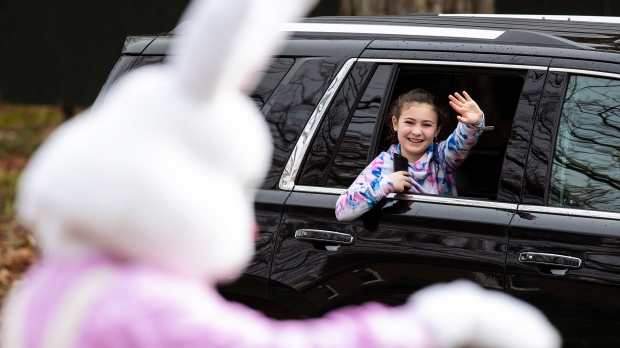 Why declaring the Easter Bunny 'essential' during a pandemic can help kids cope