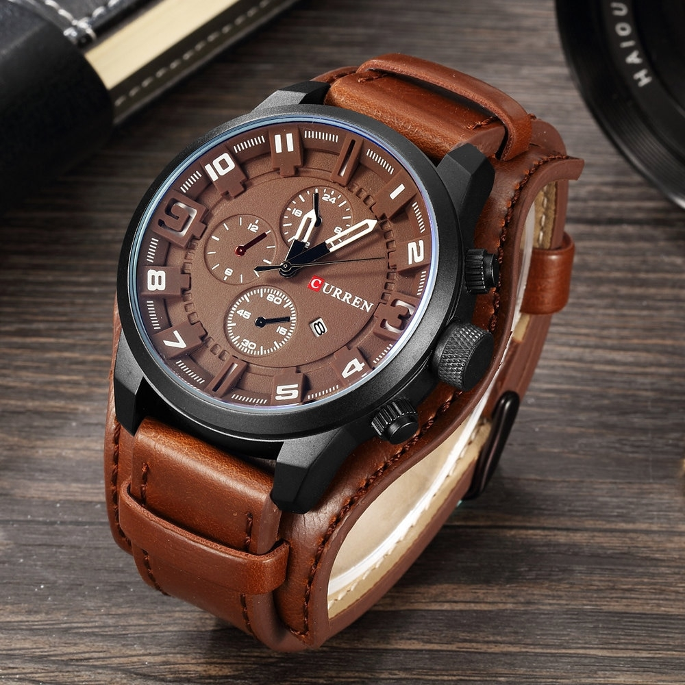 #jacket #hair New CURREN Top Brand Luxury Mens Watches Male Clocks Date Sport pic.twitter.com/T4MYmUxwC9