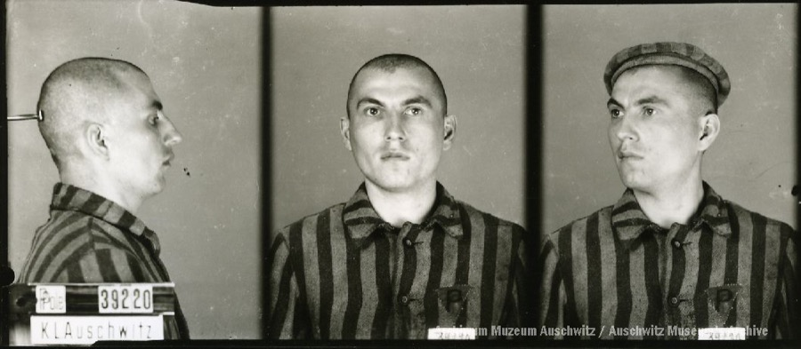 8 April 1912 | Pole Jerzy Karwaj was born in Krakow. A chemist.  In #Auschwitz from 11 June 1942 No. 39920 (political prisoner) Executed by shooting on 31 July 1942.pic.twitter.com/AVqf5FRBSL