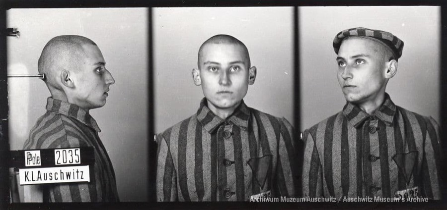 8 April 1920 | Pole Leszek Adamus was born in Warsaw. A clerk.  In #Auschwitz from 15 August 1940. No. 2035 (political prisoner) He perished on 6 January 1942.pic.twitter.com/JwJUjwlKxK
