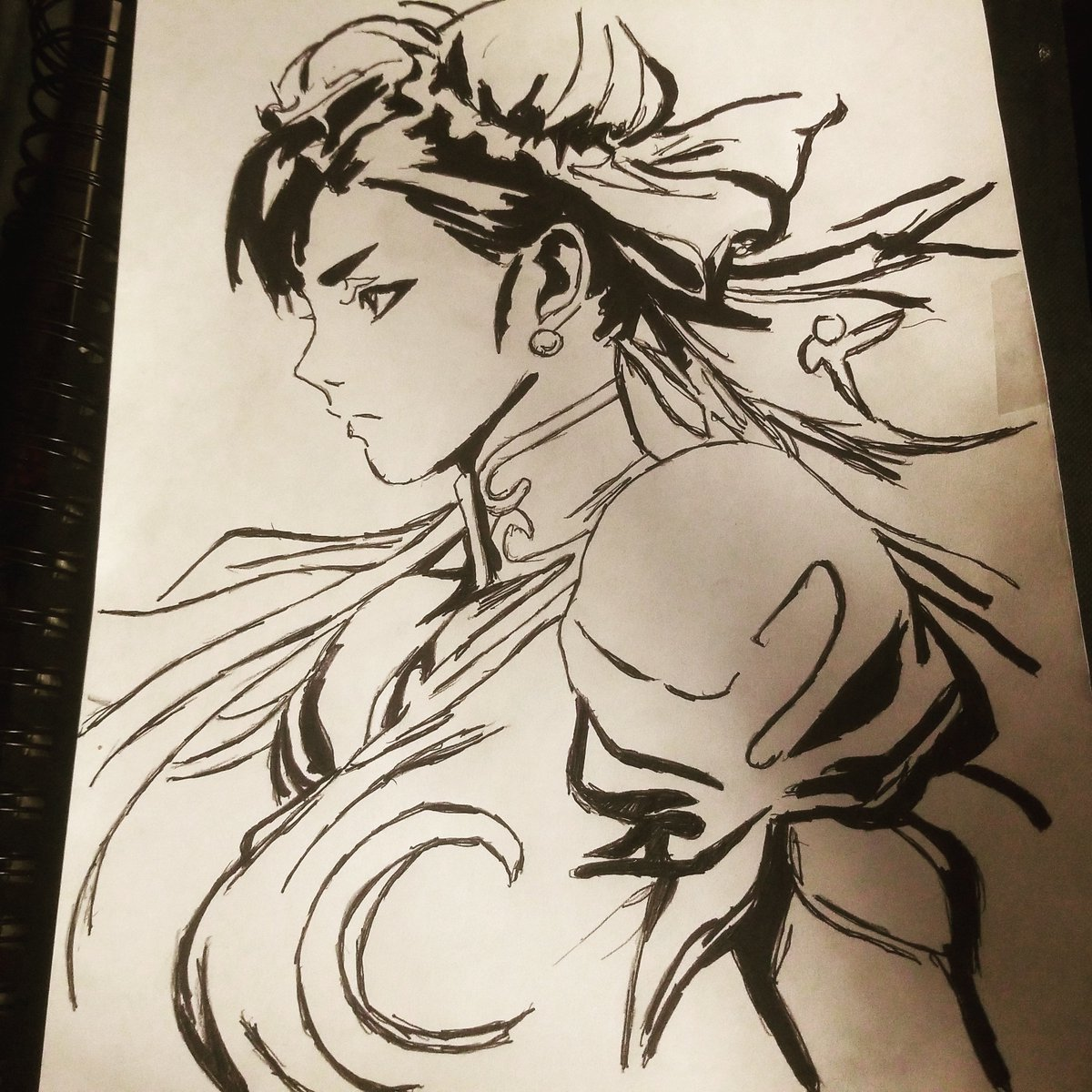 CHUN-LI #art #draw #drawings #StreetFighter #ChunLi #videogame #artists #artwork #gamingpic.twitter.com/KayWLIJ3BN