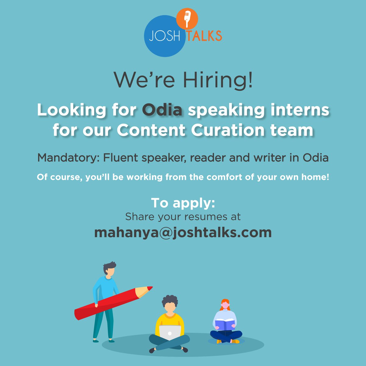 Wondering how you can spend your time at home?  Do you speak Kanadda and/or Odia? If you love creating good content, this is the opportunity for you!   #hiring #curator #internshippic.twitter.com/qM9QBpz0Wy