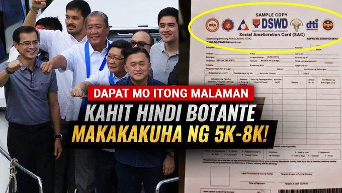 KARAPATAN MO MAKUHA ANG 5K-8K! KAHIT HINDI BOTANTE BASTA MAG FILL UP LANG NG FORM SA BARANGGAY. -  (2020)