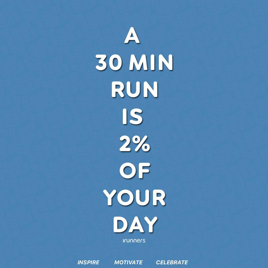 A 30min run is 2% of your day. Inspire.  Motivate.  Celebrate. . . . #marathon #runner #marathontraining #instarunners #runitfast #runchat #runnersofinstagram #runplanet #runnersrepost #runfornoreason #runaddict #werunsocial #fitnessmotivation #irunnerspic.twitter.com/NJ0wIrbBTl