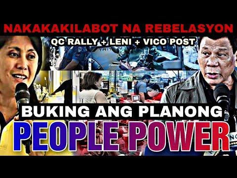 BINULGAR ANG NAKAKAKILABOT NA PLANONG PEOPLE POWER -  (2020)