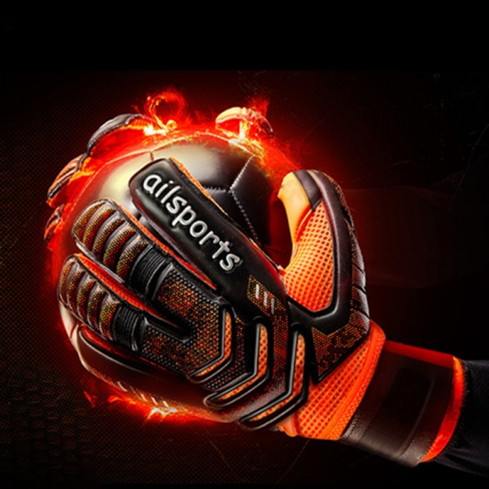 Men professional goalkeeper gloves Strong Finger Protection soccer Thickened Latex Goal Keeper Gloves De Futebol Goalie Gloves  #fashion|#tech|#home|#lifestyle