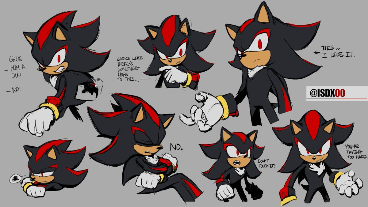 Scribbled during a long online lecture. Give me a good few hours and you get a bunch of Shadows.  You don't usually get to see him that much angry. Except for 'that' game(trailer). How interesting. <br>http://pic.twitter.com/BGwcjrHfDs
