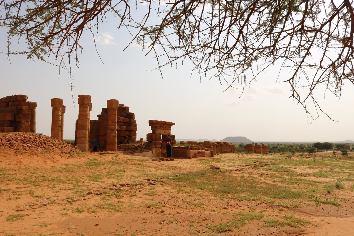 The temple of Naga #Sudan outside of #Khartoum #travel pic.twitter.com/5NDNFaQWaX