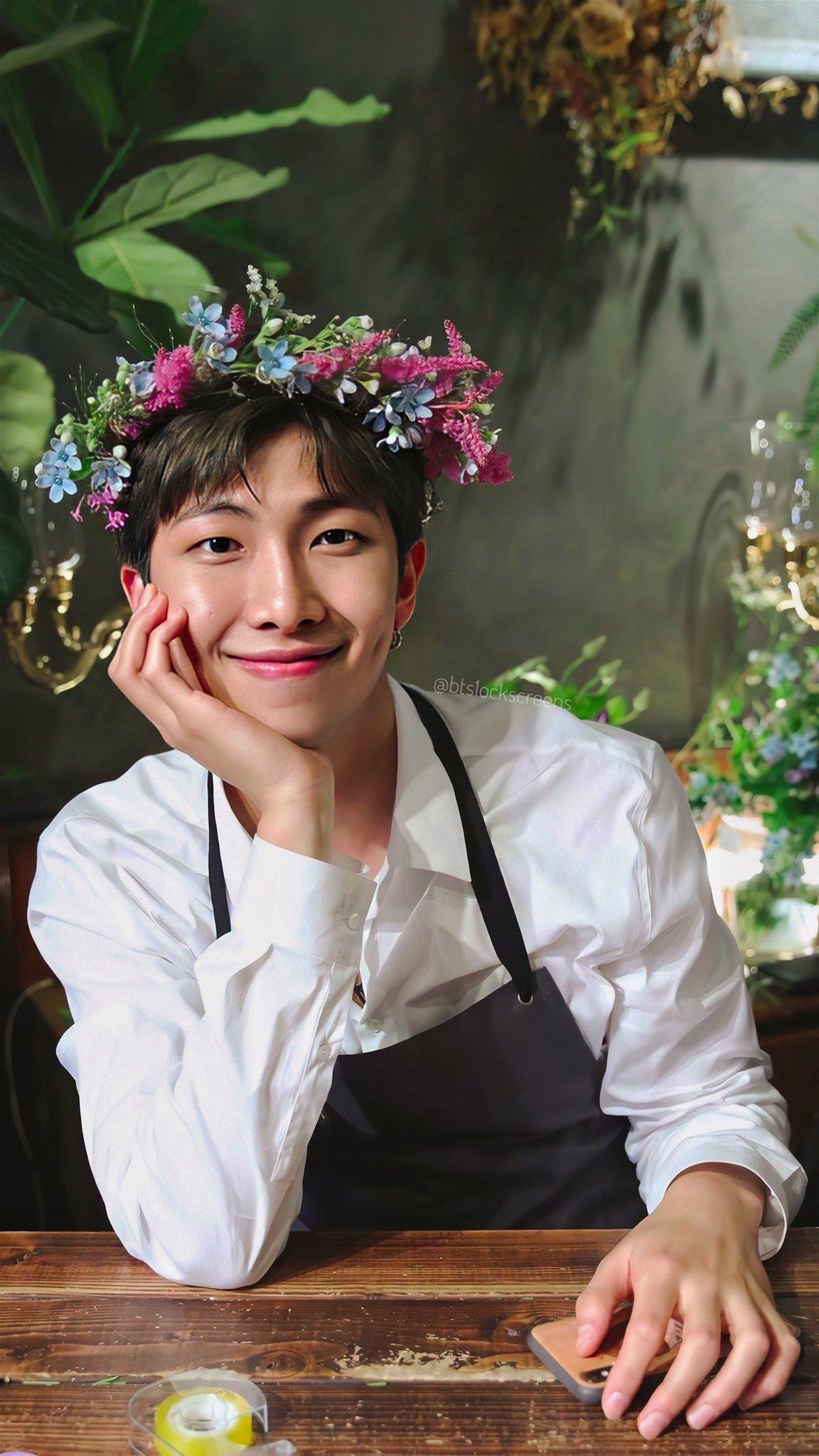 ดอกไม้ประจำวันเกิด BTS - RM