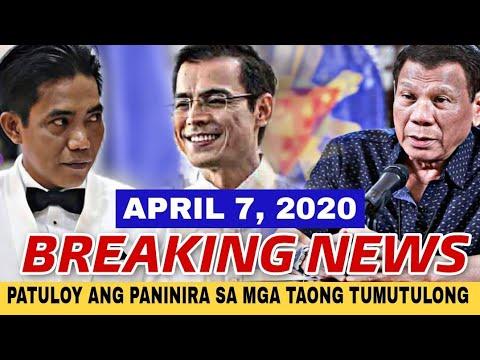 LATEST NEWS APRIL 7, 2020/ FRANCIS LEO MARCOS MAY MATINDING MENSAHE PARA SA LAHAT/ MAYOR ISKO UPDATE -  (2020)