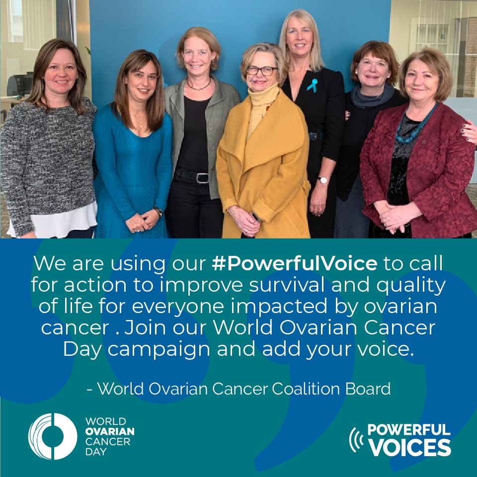 World Ovarian Cancer Day May 8 On Twitter 1 Month To Go To World Ovarian Cancer Day On May 8th Our Ovariancancerco Board Are Leading The Way On This Year S