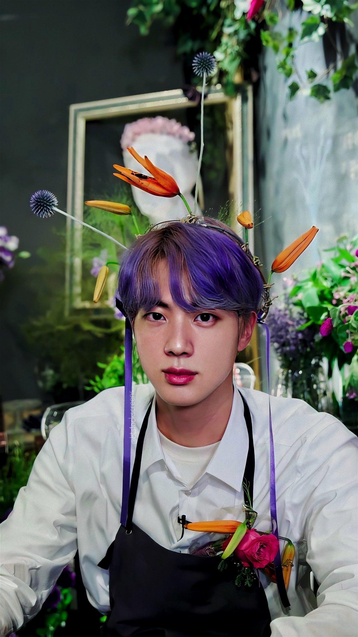 ดอกไม้ประจำวันเกิด BTS - จิน