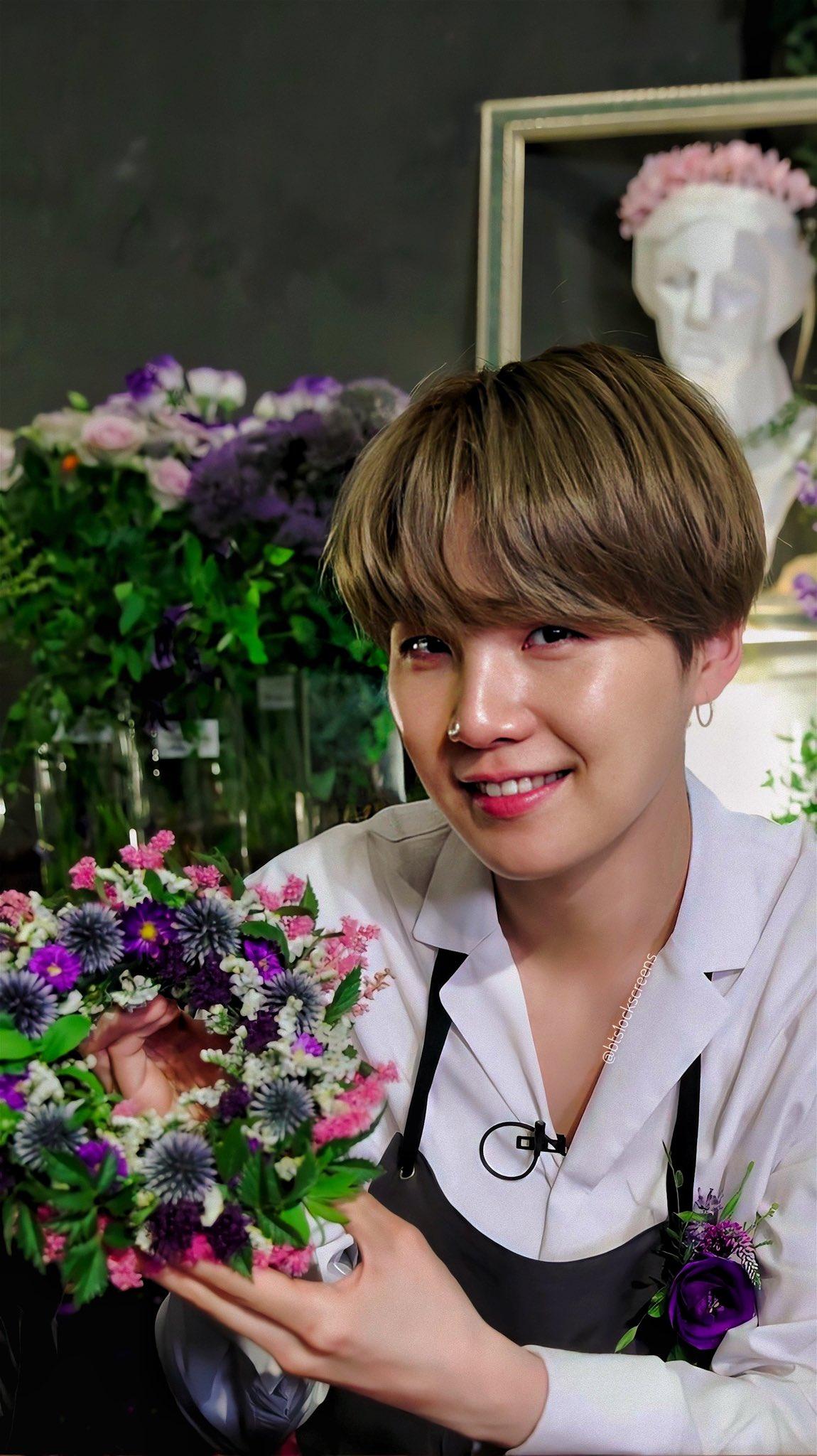 ดอกไม้ประจำวันเกิด BTS - ยุนกิ
