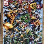 Mrs Walker has completed her second jigsaw puzzle - how many Marvel characters can you spot?