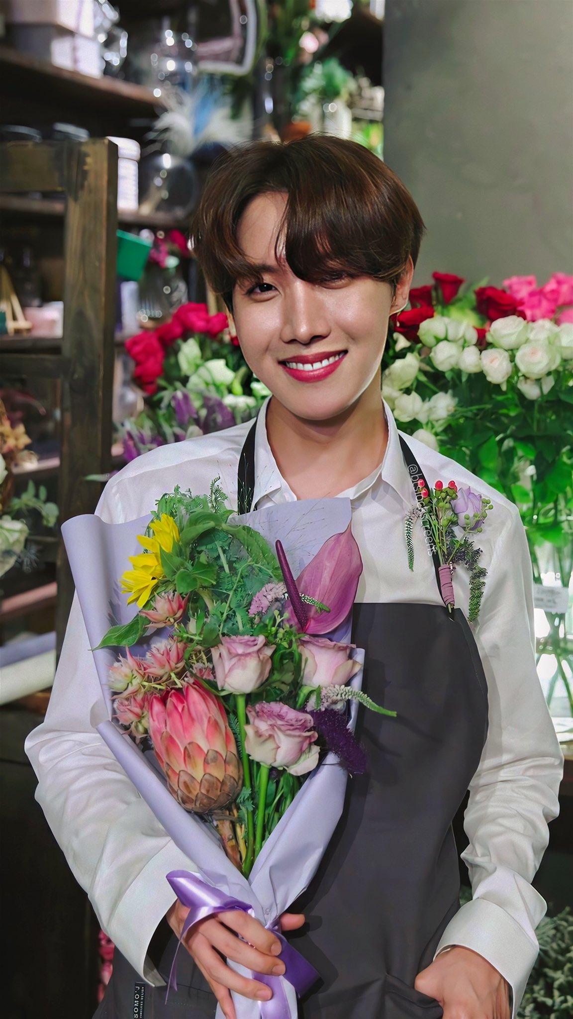 ดอกไม้ประจำวันเกิด BTS - เจโฮป