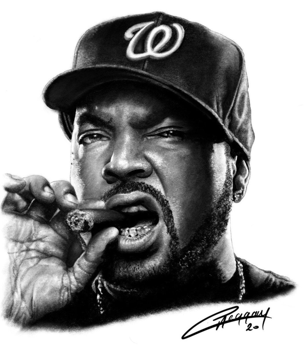 Here's the Ice Cube pencil shaded portrait from yesterday on his own from the wee project I am working on on the iPad whilst in lockdown.    Like, Retweet, Comment  #icecube #NWA #WestSide #StraightOuttaCompton #portrait #rap #hiphop #hiphopartist #rapper #gangstapic.twitter.com/Qk1ebqyCWN