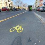 Image for the Tweet beginning: Sicherer Rad fahren 🚴🏼🚴🏼♀️: Heute