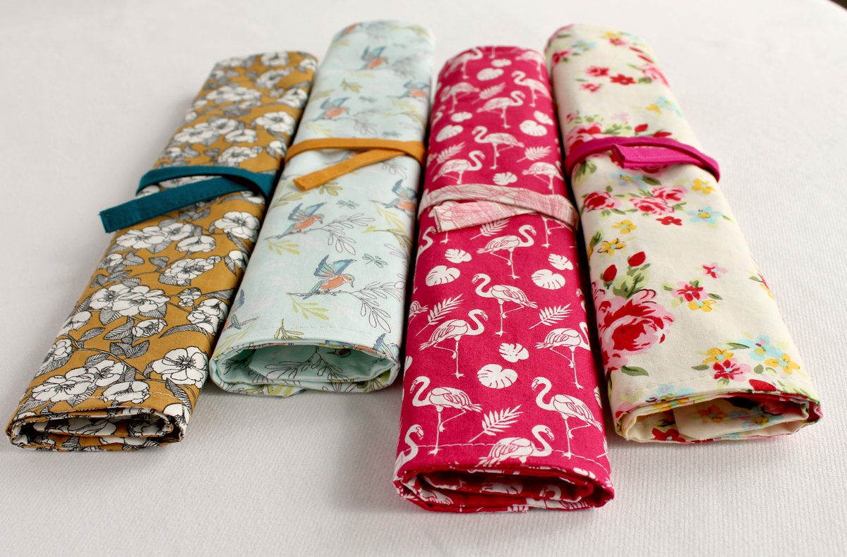 Lots of lovely napkin / cutlery rolls are now listed on my British Craft House shop:   Head on over for a browse!   #picnic #summer #napkin #tbch #pinkflamingo #kingfisher #shopsmall #buyhandmade #handmadewithlove