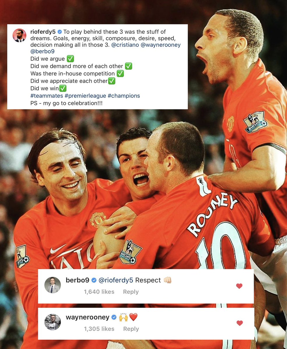 👊 A dose of #WednesdayWisdom from Rio, featuring a couple of familiar faces... 📸: @RioFerdy5 [IG]