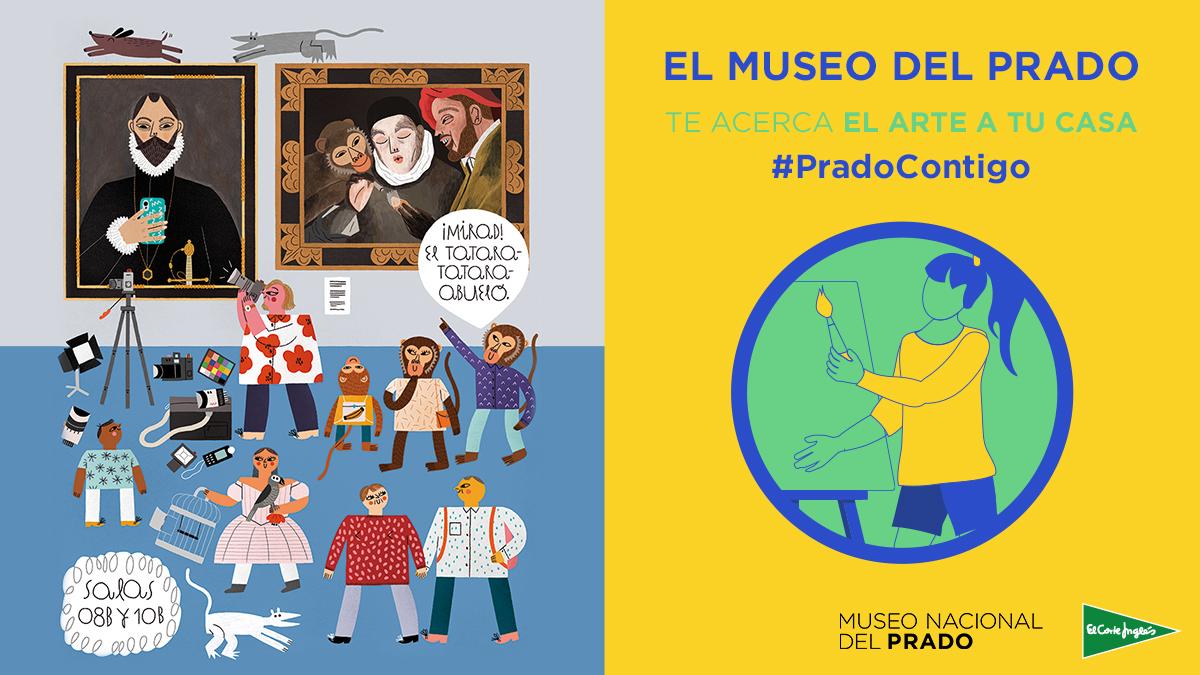Esta semana os traemos un nuevo reto para que juguéis en familia descubriendo más sobre el @museodelprado. ¿Cuál ha sido la prueba que más os ha gustado de #PradoContigo? http://bit.ly/3axR3Hm