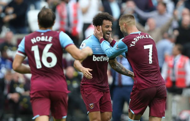David Moyes could be tempted to sell Felipe Anderson and Andriy Yarmolenko when the transfer window re-opens. (via @ClaretandH)