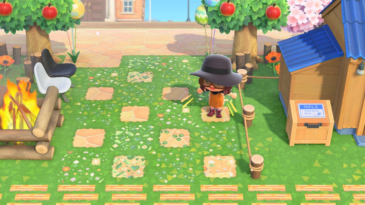 Reimena Yee On Hiatus On Twitter Ivy And Wildflower Tile To Use As Paths Path Overlays Furniture Patterns And Even Stall Decoration Animalcrossing Acnh Nintendoswitch Https T Co 7nxbm7jowd