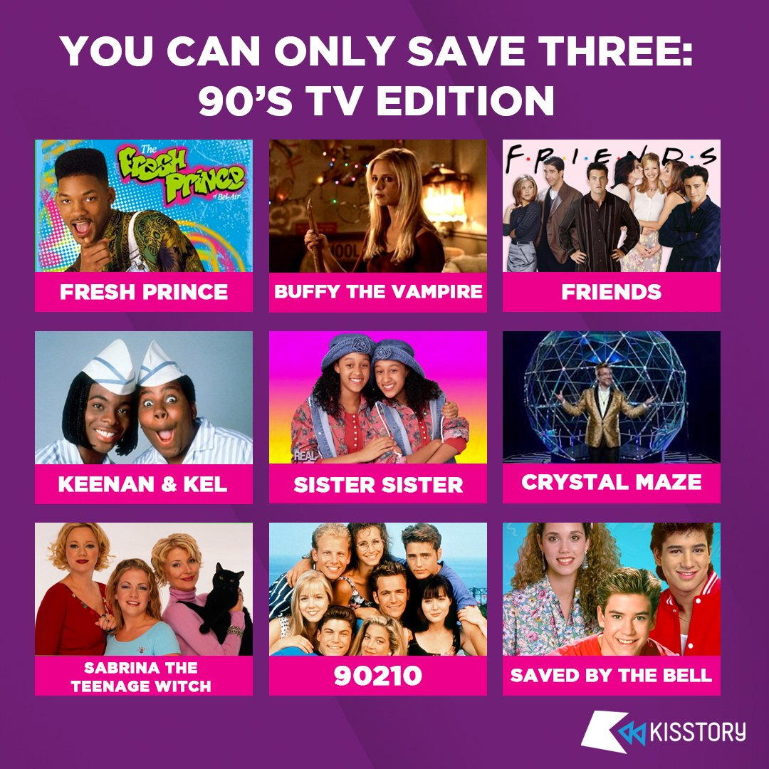 Which three are you choosing?! #KISSTORY   An hour of Old Skool & Anthems here at 11AM   http:// bit.ly/KISSKUBEAPP     <br>http://pic.twitter.com/kEtpFC9YKl