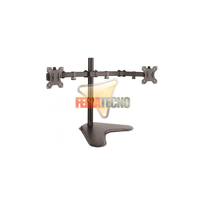 """SOPORTE DE ESCRITORIO DOBLE LCD HASTA 32"""", CON BASE, a solo $33990 #chilexpress #pullman #mercadolibre #chile #santiago #laflorida  #felizMiercoles http://www.feriatecno.com/soportes-para-lcdled-/416-soporte-de-escritorio-doble-lcd-hasta-32-con-base.html… FB https://www.facebook.com/feriatecno-cl  @Tus_Retweet RTpic.twitter.com/lu982nKUeN"""