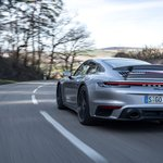 Image for the Tweet beginning: 'The new 992 Turbo S