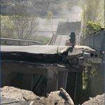 Image for the Tweet beginning: Crollato ponte ad #albianomagra Per #fortuna