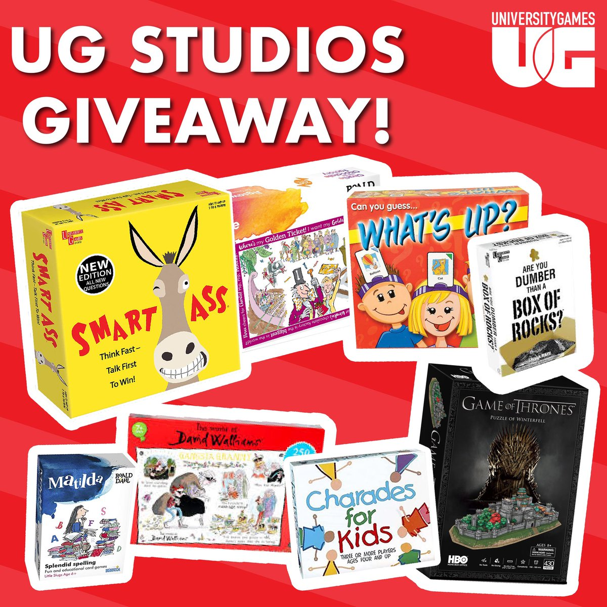 UK Bumper Games and Puzzles Giveaway! Last chance to enter to be in with a chance of winning all of the games and puzzles featured: #RT #Follow Comment #Puzzlegiveaway  Closes at 3pm on 8 April 2020. UK & ROI only. t&c's on FB and IG #giveaway #stayawaygiveaway #winpic.twitter.com/3vN2St9DWd